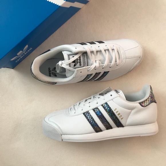 Adidas Samoa zapatilla blanco Metallic y6wo75 poshmark
